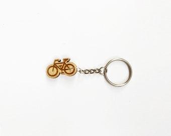 Keychain with a bike