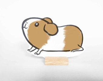 Wooden guinea pig Floris. Avaiable in different colours. Ideal pet. Great gift!