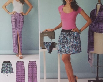 Simplicity 1368. LEARN TO SEW pattern for easy-to-make skirts. Sizes 6-18. Pattern is new, uncut, and factory folded.