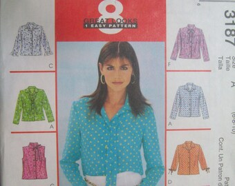 McCall's 3187. Sizes 6-8-10. Uncut and FF.