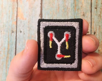 Back to the Future Flux Capacitor Custom Embroidered Iron-on Patch