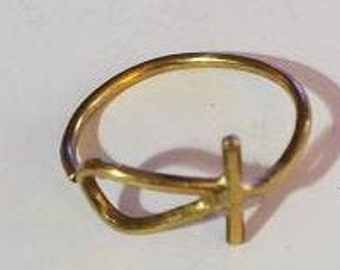 Ankh (Eternal Life) -Ancient Egyptian Ring. New Design.