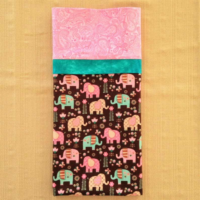 Elephant Pillowcase  Elephant Pillow Case  Elephant Fabric  Elephant Decor  Elephant Bedding  Elephant Bedroom  Elephant Theme