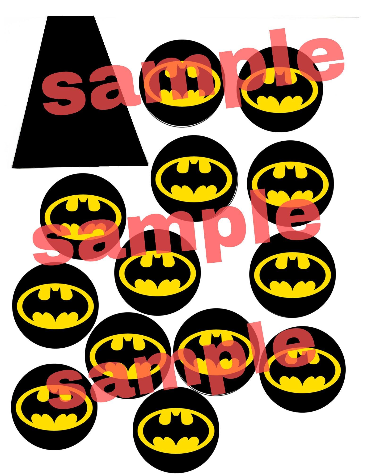 Batman Lollipop Cape Etsy
