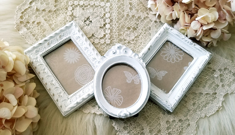 Vintage Frames, Mini Frames, Shabby Chic Frames, Wedding Picture ...