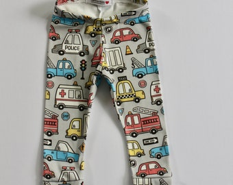 Boys' Clothing (newborn-5t) Clothing, Shoes & Accessories 3 X Handmade Instagram Harem Leggings Motorbike Print 3-6 Months High Quality And Inexpensive
