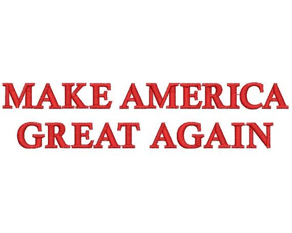 make america great again etsy