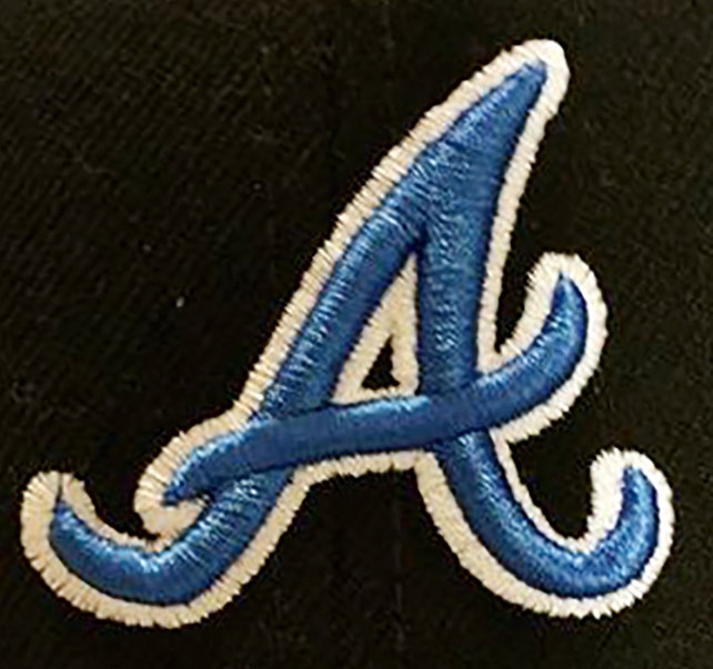 Letter A 3d Puff Embroidery Design Etsy