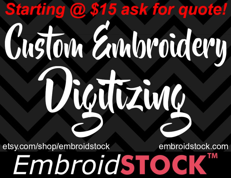 Custom Machine Embroidery Digitizing Services | Embroidery Designs
