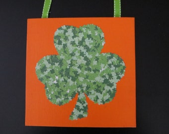 Canvas Wall Decoration- Shamrock