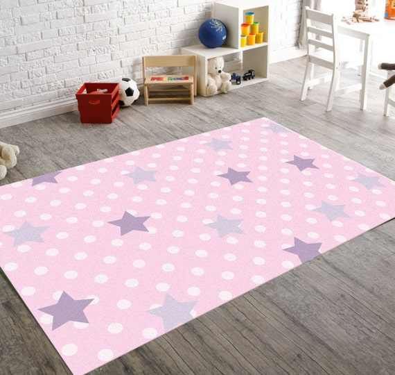 Nursery Rug Rugs For Nursery Baby Girl Nursery Decor Etsy