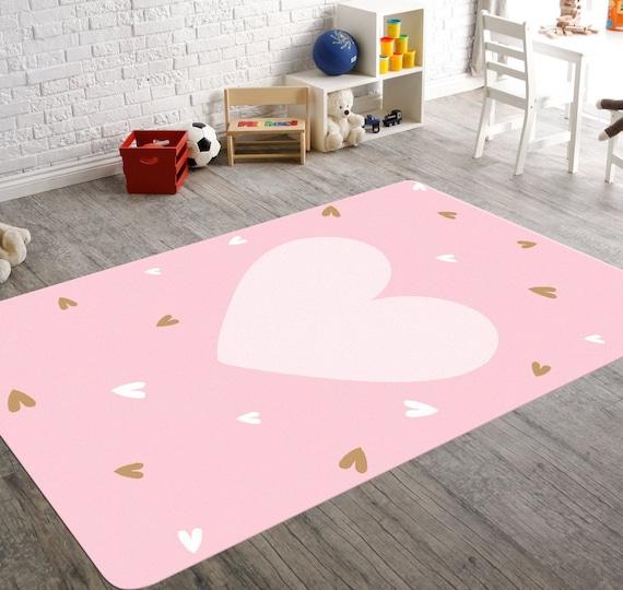 Accent Rugs, Pink Rug, Bedroom Rugs, Pink Area Rug, Pink Nursery Rug, Girls  Rugs, Light Pink Rug, Pink Bedroom Decor, Girl Nursery Rug