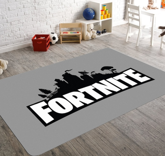 Fortnite Rug Fortnite Room Video Game Rug Fortnite Room Etsy