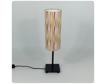 Cylindrical design shade - So chic!