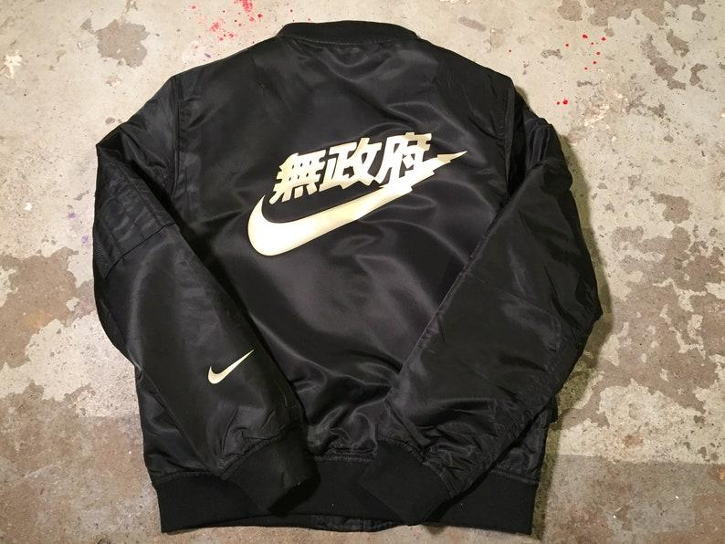 2e8f5c5d6ae203 Air Tokyo MA-1 Bomber flight camo reversible coat Jacket Kids
