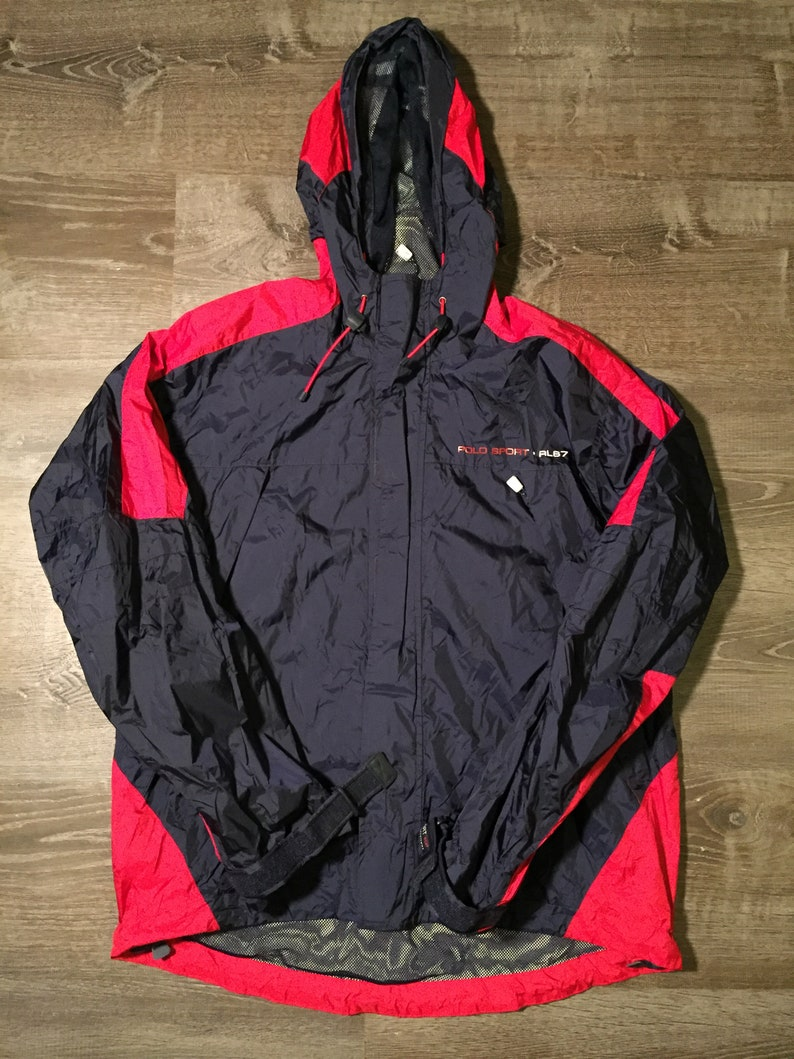 los angeles 69daf b755d Ralph Lauren polo sport jean Company snow beach USA windbreaker jacket sz.  L crossbody fanny pack supreme shoulder bag