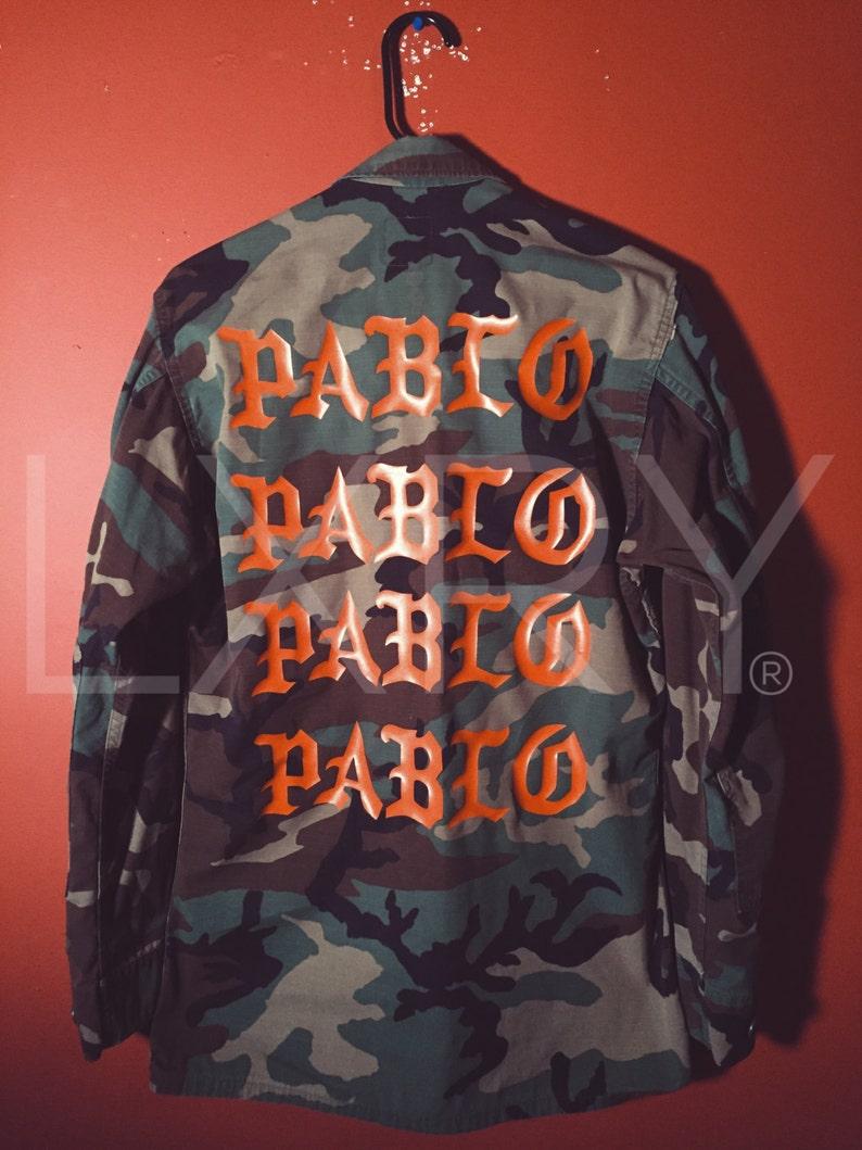 3f664001c The Life pablo ultra light beam tour merch pablo military army