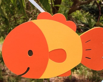 Fish Birthday Banner