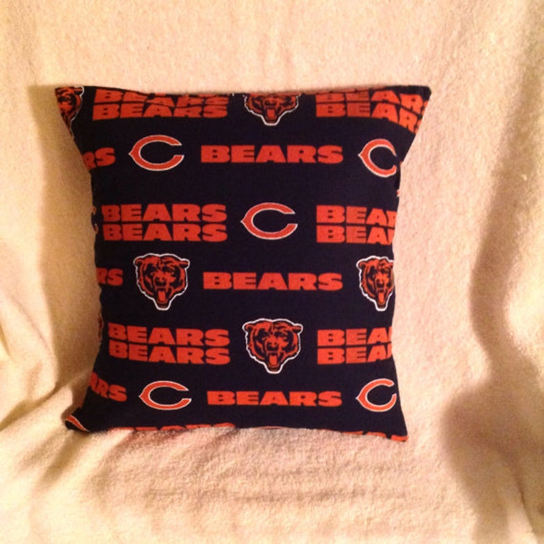 best service aff20 d90ee CLEARANCE! ~ CHICAGO BEARS Pillow ~ Was 16.99 ~ Now Just 10.00!