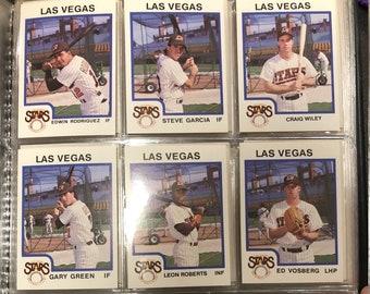 1987 Las Vegas Stars Complete Set