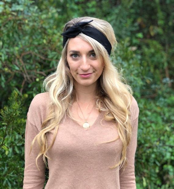 Black Boho Wire Headband Boho Headband Women s Headwrap  d5cf72daa82