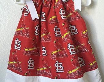 Saint louis cardinals pillowcass dress