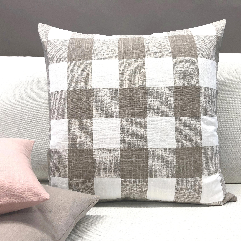 Coussin style maison de campagne Déco Style Art Déco Dame Zierkissen Blanc