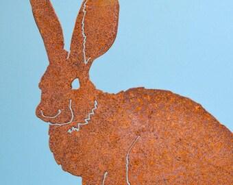 Mama Bunny | Bunny Garden Art | Bunny Yard Sign | Easter Bunny Decor | Bunny  Garden Statue | Gardener Gifts | Metal Yard Art | Rabbit | A207