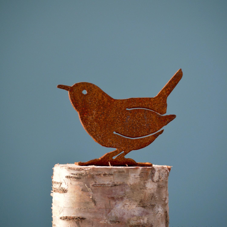 Carolina Wren | Wild Bird Art | Metal Bird Art | Wren Gifts | Bird ...