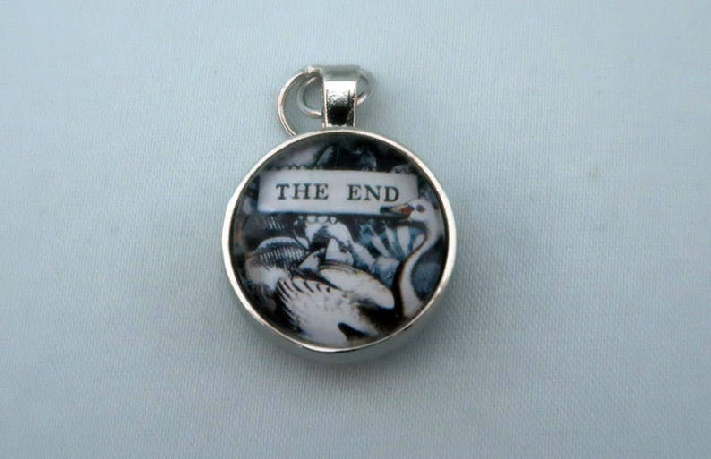 Happily Ever After Pendant Eye Candy for the Soul by Sally Jean Vintage Inspired Charm for Necklace or Keychain