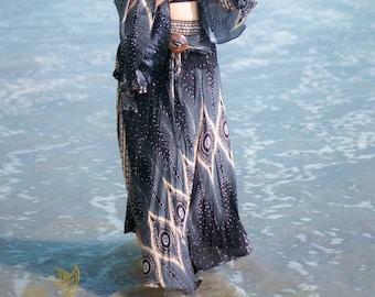 Hippie Boho Skirt, Comfy Skirt, Festival Skirt, Festival Clothing, Handmade Skirt, Boho Clothing, Hippie Clothing
