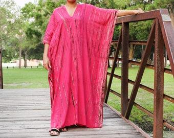 Tie Dye Kaftan dress,Summer party dress, loose dress,Cocktail party kaftan,Festival wear,beach cover.Tie dye dress,kaftans for women