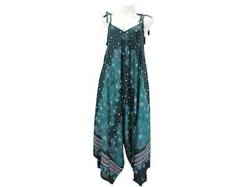 Hippie Jumpsuit,Bohemian pants,Hippie boho jumpsuit,Women Loose pants,loose jumpsuit,wide leg jumpsuit,hippie jumpsuits,Boho Festival Pants
