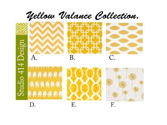 VOLANT. Gelbe Schürze. Gelben Fenster Treatment.Kitchen | Etsy