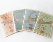 Your Choice of Four Model Kits of Portland Oregon Bridges, laser cut model kits, DIY