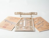 Architectural Model Kit of the Broadway Bridge Portland Oregon, Miniature Bridge DIY Kit