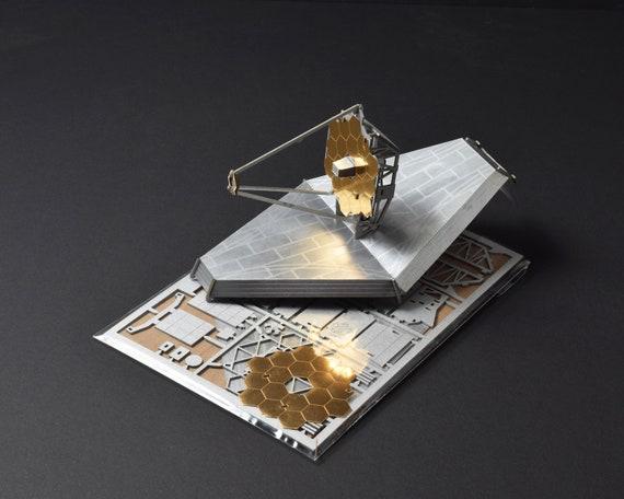 James webb space teleskop modell bausatz lasergeschnitten etsy