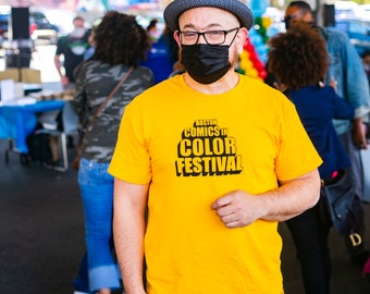 Official Boston Comics in Color Festival Tee Shirt