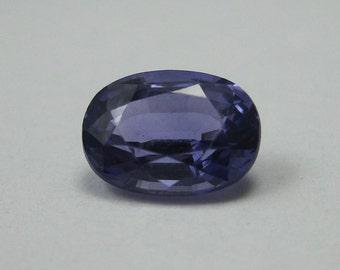 Loose 1.44 ct Genuine Oval Purple Sapphire - Beautiful Purple Color!