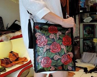 BIANCO Grande Thai Collo Borsetta Bag-Passaporto cellulare Festival di viaggio