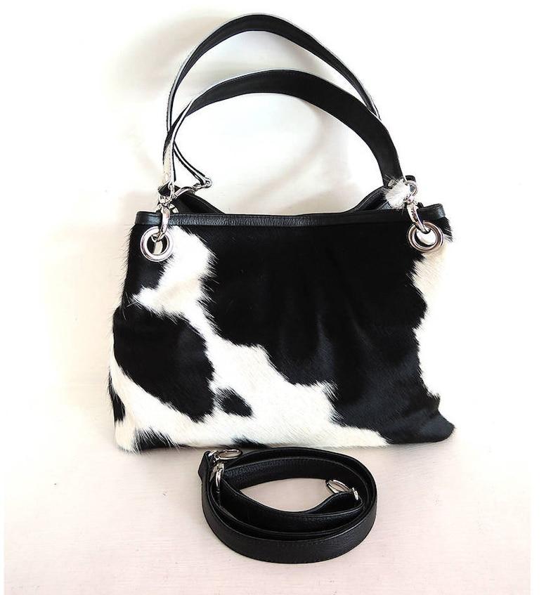 9880b7b0d392 DESIGNER BAG COWHIDE Handbags   Cowhide Shoulder Bag   Cow