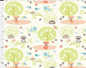 Woodland Babies One Curtain Panel
