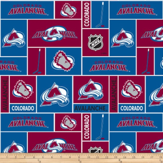 Throw Pillow Cover Colorado Avalanche Hockey Sport Etsy