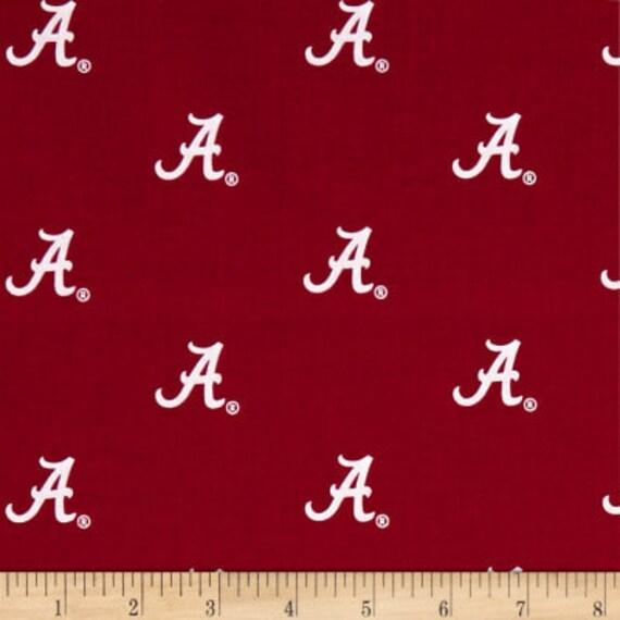 Shower Curtain Alabama Crimson Tide Decorative Button Hole Top