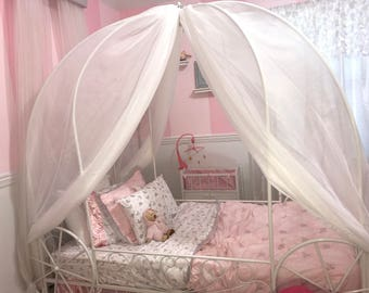 Zwei Wagen Bett Vorhänge   Custom Baldachin Für Prinzessin Schlafzimmer  Kinderzimmer Spielen Zelte Tee Pee Bett