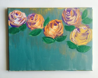 Van Gogh Roses