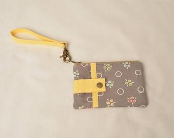 Handmade Zippered Purse, Coin Pouch, Wallet