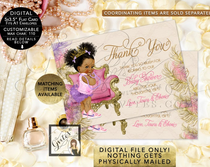 """Baby Shower Thank You Cards Personalized 