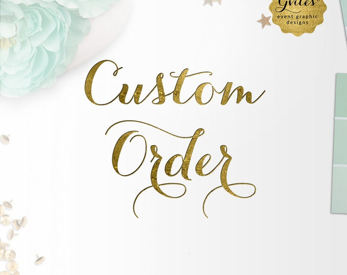 Custom Order - Banner Backdrop