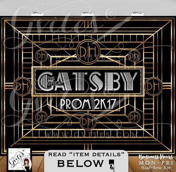 BackdropThe Great Gatsby Backdrop theme backdrop